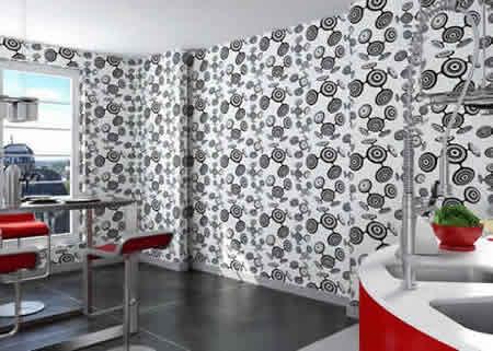 trenutno najpopularniji dekor na zidnim tapetama koji. Black Bedroom Furniture Sets. Home Design Ideas